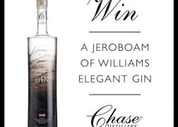 Win a Jeroboam of Williams Elegant Gin